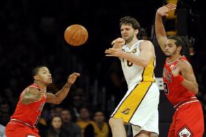 87-88. Rose les robó el triunfo a los Lakers