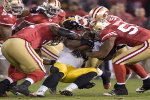 20-3. Los 49ers pueden con los Steelers y Akers estableció marca