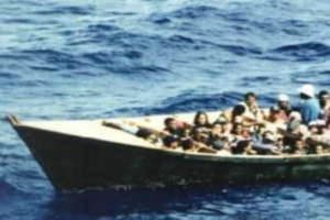 Náufragos dominicanos celebraron partida a Puerto Rico