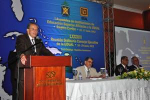 Unicaribe y 14 entidades evalúan educación superior de AL y el Caribe