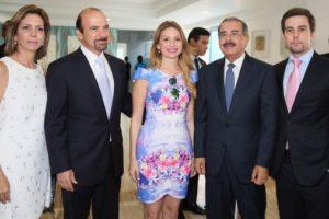 Presidente Medina asiste a inauguración de residencial turístico en Juan Dolio