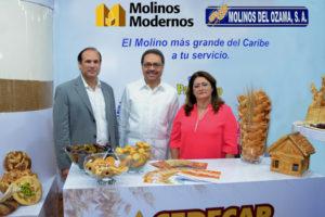 Molinos del Ozama exhibe productos y ofrece seminario  en feria comercial Asonahores 2014