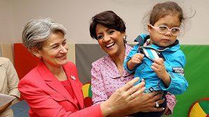 """Directora General de la UNESCO dice CAID es """"impresionante e innovador"""""""