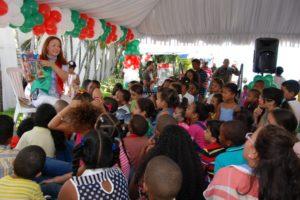 ONAPI celebra Día de Reyes a hijos de empleados
