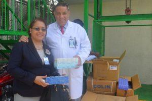 Hospital Marcelino Vélez recibe donación de medicamentos y material gastable