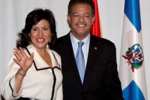 Margarita Cedeño agradece a Dios por 12 años de unión con Leonel Fernández