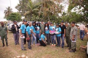 Marcel y la Fundación Media Luna realizan operativo de orientación a vacacionistas