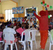 Fundación de Ayuda al Menor en Total Olvido ofrece almuerzo a 240 infantes pobres