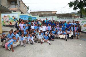 Inabie y Fundación Rica realizan Jornada médica en escuelas públicas donde atienden unos 2,875 alumnos