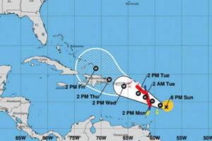 El huracán María ya es amenaza para el Caribe