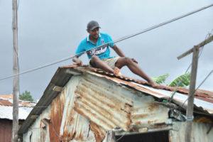 El país recibe desde anoche los efectos de ciclón María