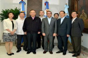 Navarro coordina con vicecanciller de Taiwán proyectos de aulas móviles e intercambios estudiantiles