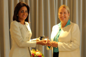 Despacho Primera Dama acuerda con la NYU programas para mujeres más saludables en RD