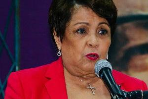 Alejandrina Germán aclara que la unidad del PLD no ha estado en juego