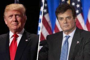 Exjefe de campaña de Trump se entrega al FBI tras orden de arresto