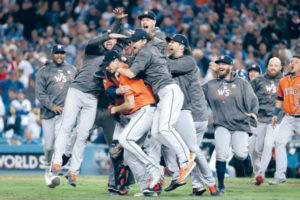 Astros de Houston campeones por primera vez en su historia