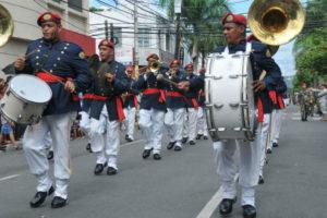 En imágenes: desfile cívico-militar por el 173 aniversario de la Constitución