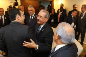 Presidente Medina se reúne con homólogos antes de plenaria del SICA