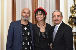Presidente Medina comparte velada con almuerzo a periodistas y reporteros gráficos en Palacio Nacional