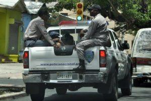 Policía Nacional informa presunto asaltante muere al enfrentar agentes del orden
