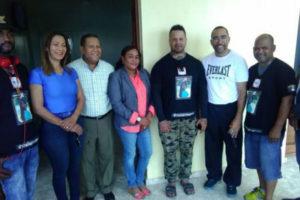 Llega a Higüey joven peregrino que salió el lunes desde Plaza de la Bandera contra feminicidios
