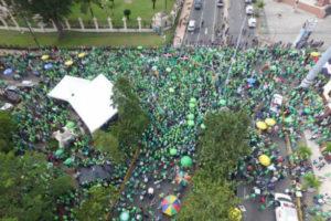 Marcha Verde pide sean apresados todos los vinculados en casos OMSA, Oisoe, CEA, Odebrecht y Catalina