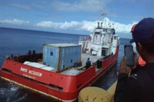 Aduanas detiene Barco con un contrabando de 109 mil 100 galones de gasoil en Manzanillo