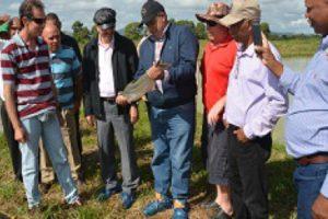 Directores IAD e Inabie realizan recorrido por proyecto acuícola Copeyito