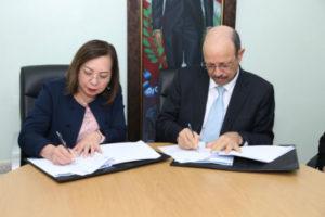 Inabie y el INCAP firman convenio de cooperación alimentaria