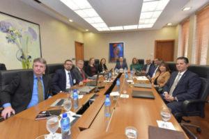 BCRD y FMI realizan reunión cierre de misión